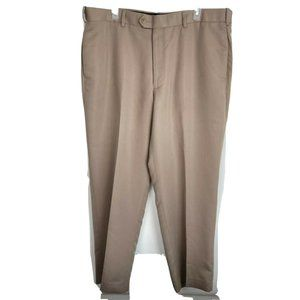 Savane Classic Regular Fit Straight Leg Dress Pant